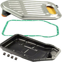 For Audi A4 Quattro A6 A8 S4 Auto Transmission Oil Pan + Filter + Gasket Kit