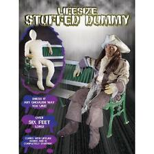 Life Size Posable Dummy with Hands for Halloween