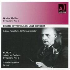Dimitri Mitropoulos - Symphony 3 [New CD]