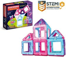 Building Toys Magformers Inspire Set (30-pieces) Magnetic Blocks, Educational