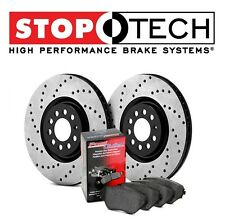 For Toyota Tundra Lexus Rear StopTech Drilled Brake Rotors+Pads Kit 939.44523