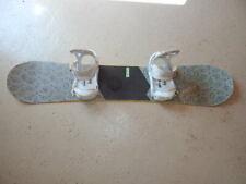 Burton Dominant Snowboard 152 cm Black/White + Burton Digital Surround Bindings