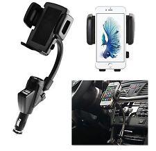 Auto KFZ Handy Halterung Halter iPhone 5 5s 5c SE 6 6s 6 Plus 7 7 Plus 8 8+ X