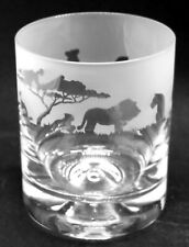 More details for lion frieze boxed 30cl glass whisky tumbler