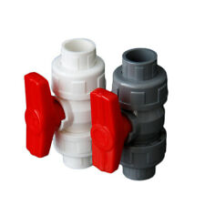 PVC Ball Valve Solvent Weld Live Nut,For20/25/32/40/50/63/75/90/110mm Water Pipe