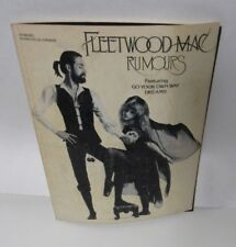 1977 Fleetwood Mac Rumors Sheet Music Song Book Stevie Nicks
