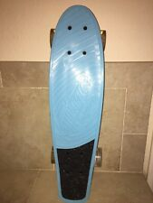 Kryptonics 22.5� Torpedo Board ~ Bravo Sports Skateboard Blue ~ Sky Cats Graphic