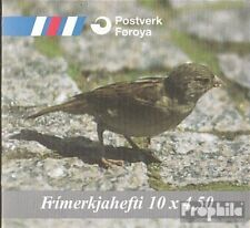 Denmark-Faroe Islands MH17 mint never hinged mnh 1999 state bird