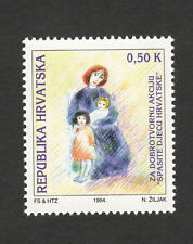 CROATIA-MNH TAX STAMP-FOR CHILDREN-1994.