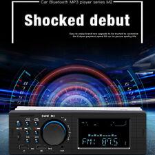 Single 1 DIN Car Stereo MP5 Player FM Radio Bluetooth AUX USB 4RCA U Disk