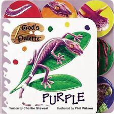 God's Palette Purple by Charlie Stewart 2005 Hardcover