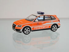 "Herpa 092975 H0 1:87 - Audi Q5 Voiture d'intervention ""FW Baumbach Nord"""