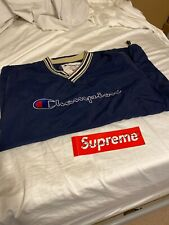 Supreme Champion Pullover Size Large Navy