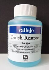 (4,11€/100ml) Vallejo 28890, Brush Restorer, Pinselreiniger Acryl, 85 ml, Neu