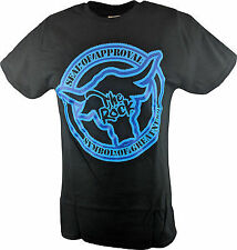 The Rock Seal of Approval Blue Logo Mens T-shirt