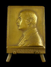 Medaille Jean Faure Congrès int de pharmacie 1925 Val de Grace Henry Nocq medal