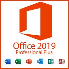 Microsoft Office 2019 Professional Plus 32/64 Lifetime License Key For Windows