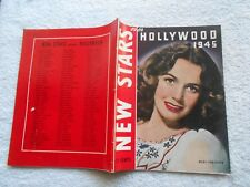 NEW STARS OVER HOLLYWOOD 1945  Magazine-MARY ANDERSON