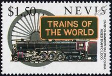 CANTON HANKOW RAILWAY (China) Vulcan 4-8-4 Steam Train Locomotive Stamp