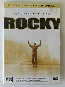 ROCKY 25th Anniversary Special Edition DVD, R4 PAL, Boxing, Sylvester Stallone