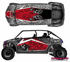 Polaris 4 RZR 900 xp Design MXVEC 013 Decal Graphic Kit Wraps Hood Scoop