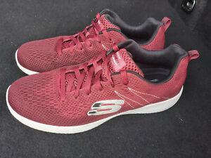 Skechers Lite weight Air Cooled memory foam men casual shoes Size UK 9 EU 43
