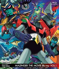 MAZINGER THE MOVIE Blu-ray VOL.1  - Japanese original Blu-ray