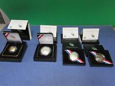 New, US Mint 2014 Baseball Hall of Fame Commemorative Coins, Set of 4