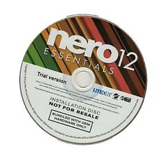 Nero AG Nero 12  Burning Rom Essential Suite Multilingual 1 PC OEM
