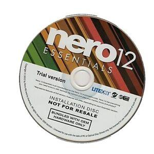 Nero AG Nero 12  Burning Rom Essential Suite Multilingual 1 PC OEM