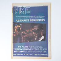 NME magazine 22 March 1986 Absolute Beginners cover Blow Monkeys The Pogues