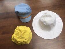 3 Sombreros De Verano Vintage/tapas para niños o de una hembra