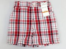 NEW Boys US POLO ASSN 12M  Red Plaid Shorts Size: 12M NWT