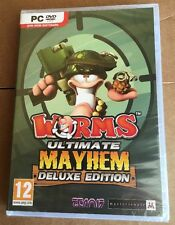 Worms Ultimate Mayhem  PC Brand New Sealed. Quick Daily Shipping