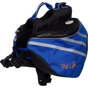 Pet Life Everest Blue Small Dog Backpack SM