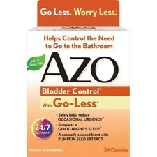 AZO Bladder Control with Go-Less Capsules, 54 Count