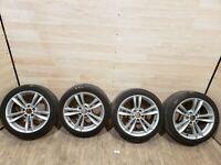 """✅ OEM BMW Front Rear Sport Wheels Double Spoke Style 658 R18"""" SET"""