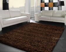 Soft Shaggy Hochflor Teppich uni mocca / dunkel braun Grösse 160x230 cm