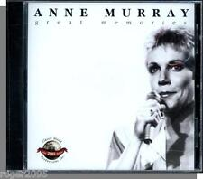 Anne Murray - Great Memories (2000) - New Classic World Productions CD!