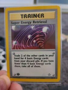 1st Edition Super Energy Retrieval Neo Genesis 89/111 NM-M