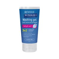 Revuele No Problem Facial Wash Gel Anti-Acne&Pimples With Salicylic Acid 200ml