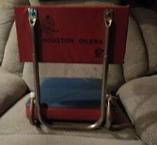 Vintage Football 1972 HOUSTON OILERS Astrodome Stadium Seat OILMAN AFL LOGO