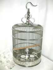 Prevue Pet Products Lotus Stainless Steel Bird Cage 150 NEW - NO BOX, NO GRILLE