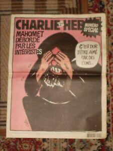 CHARLIE HEBDO N° 712, 8 février 2006 : MAHOMET débordé par les INTEGRISTES