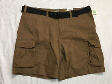 Sonoma Cargo Shorts Mens Size 46 Safari Trail Brown Classic Fit  Big & Tall NWT