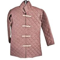 HQ Viking Men's Cotton Gambeson Replica Padded Armor Jacket coat in Asian style