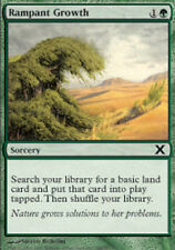 4x Rampant Growth MTG Regular NM, English 10th Edition