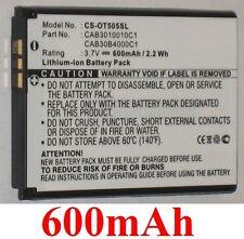 Batterie 600mAh type CAB3010010C1 CAB30B4000C1 Pour Alcatel OT-505