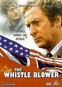 Whistle Blower DVD Michael Caine 1986 Spy Espionage Thriller Movie