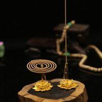 Aromatherapy Furnace Frame Flower Metal Holder Decor Coils Clip Incense